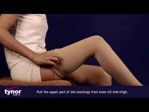 How to wear Tynor Medical Compression Stockings