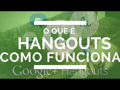 Hangouts O Que é [e Como Funciona] O Google Hangouts