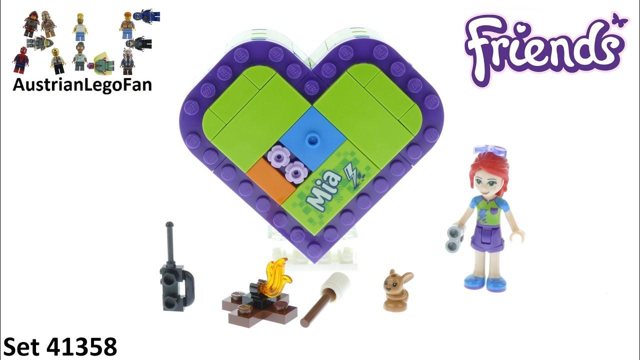 Lego Friends 41358 Mias Heart Box Lego 41358 Speed Build Youtube
