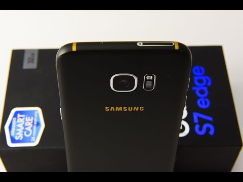 How To: Samsung Galaxy S7 / Edge Matte Black (1piece)