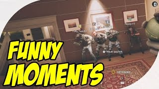 Watch me nae nae - rainbow six siege (funny moments)
