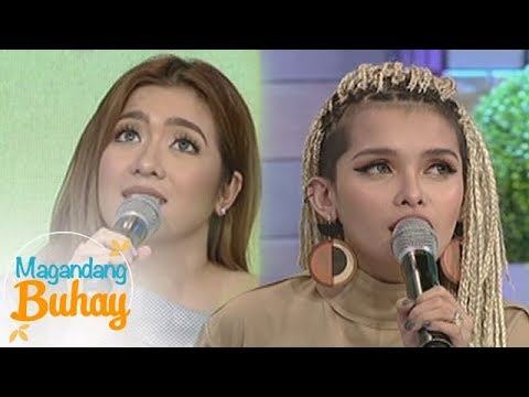 Magandang Buhay: Angeline and KZ share how their friendship started