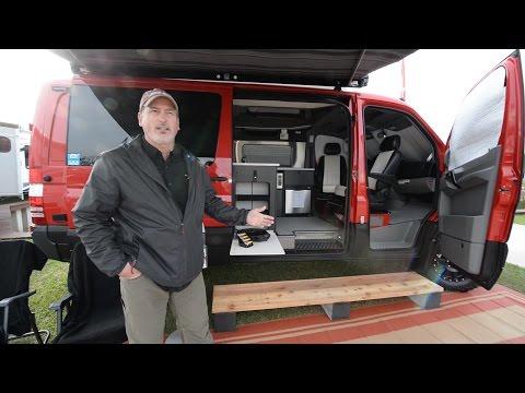 2016 Mercedes Sprinter Diesel 4X4 RB-50 Camper Van ~ Full Tour