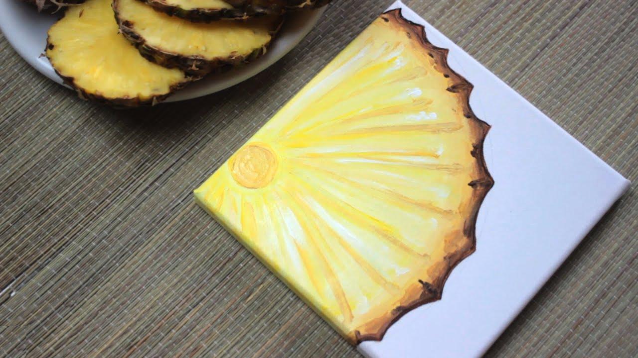 pineapple painting. Pineapple Painting C