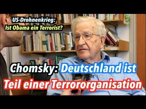 Die Bundesregierung ist Teil einer Terrororganisation, sagt Noam Chomsky #Ramstein