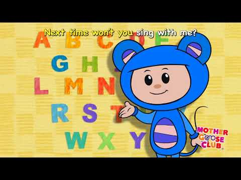 ABC Song with Eep the Mouse   Mother Goose Club Nursery Rhymes
