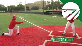 soft toss drive hitting drill baseball training with todd whitting on ft academy