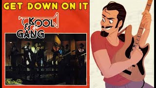 Kool & The Gang - Get down on it BASS COVER by FFKING