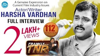 Frankly With TNR Current Topics #1 (Casting Couch) With Harsha Vardhan - Full Video