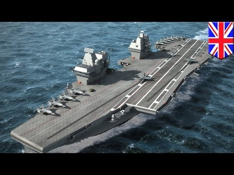 New British aircraft carrier HMS Queen Elizabeth to be world