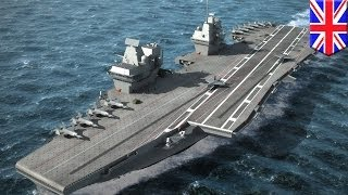New British aircraft carrier HMS Queen Elizabeth to be world's second largest supercarrier