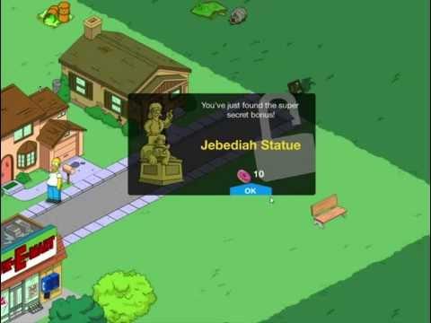 Симпсоны в Спрингфилде игра для Apple/Android iPad версия