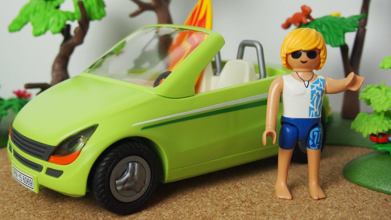 film playmobil fran ais l 39 accident de la voiture de surfeur youtube. Black Bedroom Furniture Sets. Home Design Ideas