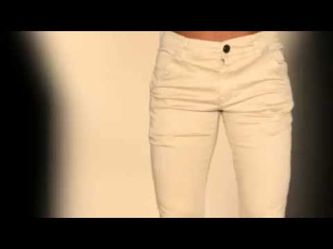 Pantalon Drill Strech Youtube