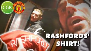 Man Utd In The FA Cup At Old Trafford! & Rashford Match Shirt Giveaway | Ben Foster - TheCyclingGK