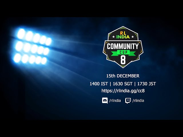 RL India Community Cup #08