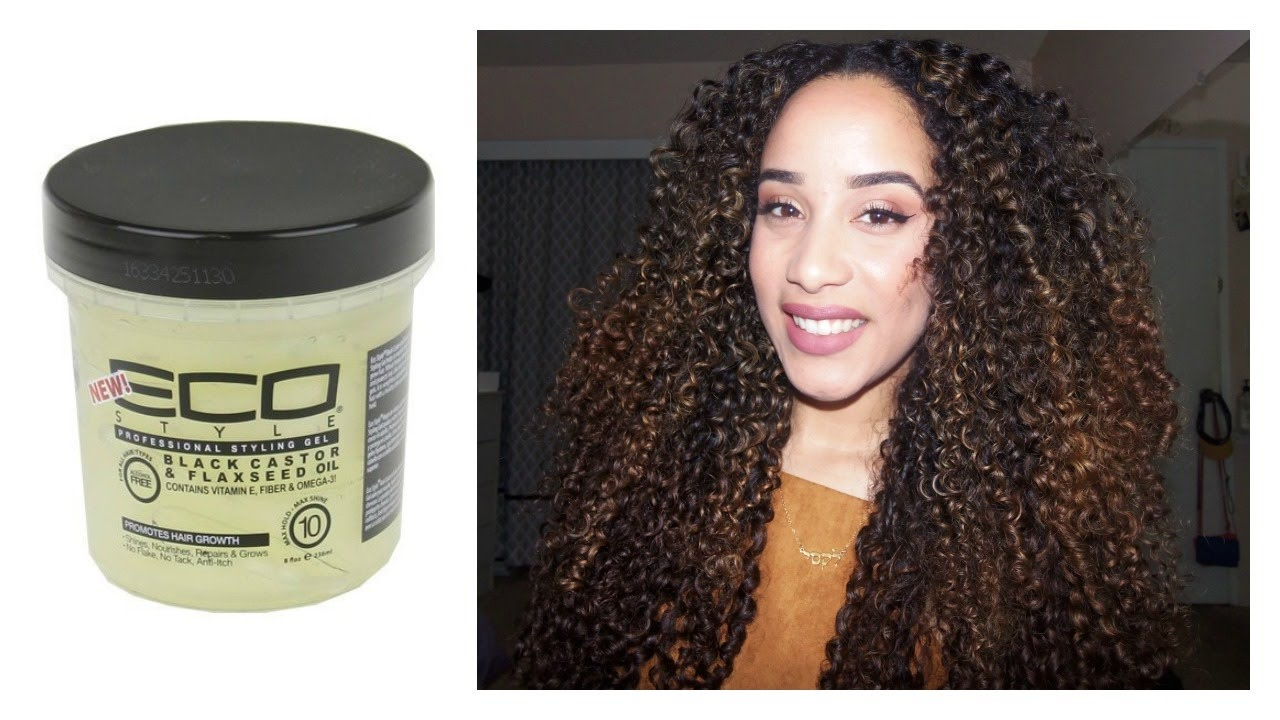 black hair styling gel review new eco styler black castor amp flaxseed gel on 8313