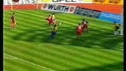FC Bayern München vs 1.FC Nürnberg mit Phantomtor 1994 Orginalkommentar Werner Hansch