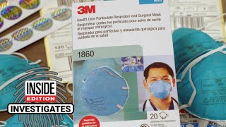 1.7 Million Counterfeit N95 Face Masks Seized From Warehouse