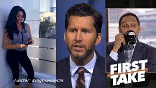 Is ESPN First Take Replacing Molly Qerim w/ Will Cain?