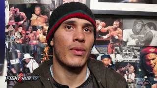David Benavidez talks sparring Golovkin, his power, Ring IQ