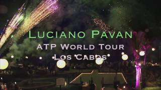 Luciano Pavan Live at ATP World Tour Los Cabos