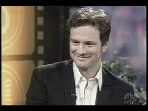 Colin Firth on Love Across Language Barriers, Portuguese, Italian, Ending Up in a Pond Again :D