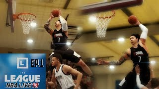Most Insane Dunk Ever at the Draft Combine - Nba Live 19 The League Ep. 1