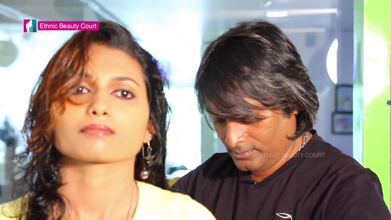Modern Hair Style By Viji - Celebrity Makeup Artist   Malayalam Beauty Tips   Ethnic Beauty Court