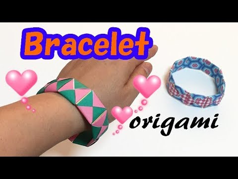 diy-origami-bracelet-for-girls-step-by-step-|-how-to-make-a-paper-bangle-easy-but-cool