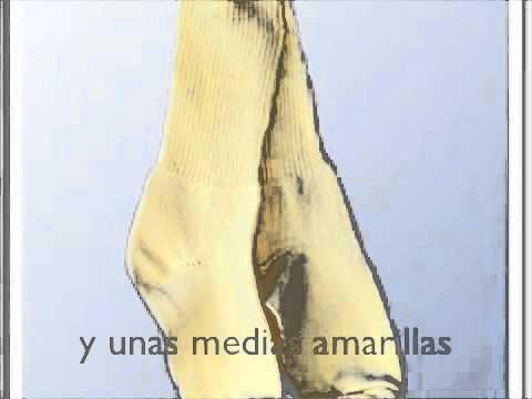 Spanish Clothing Vocabulary to Music