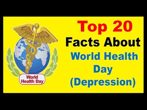 World Health Day (Depression) 2017 - Facts