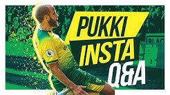 Q&A | Teemu Pukki answers your questions from Instagram! 🐐