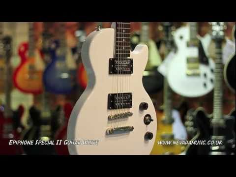 Epiphone Les Paul Special II White - Quick Look @ Nevada Music UK