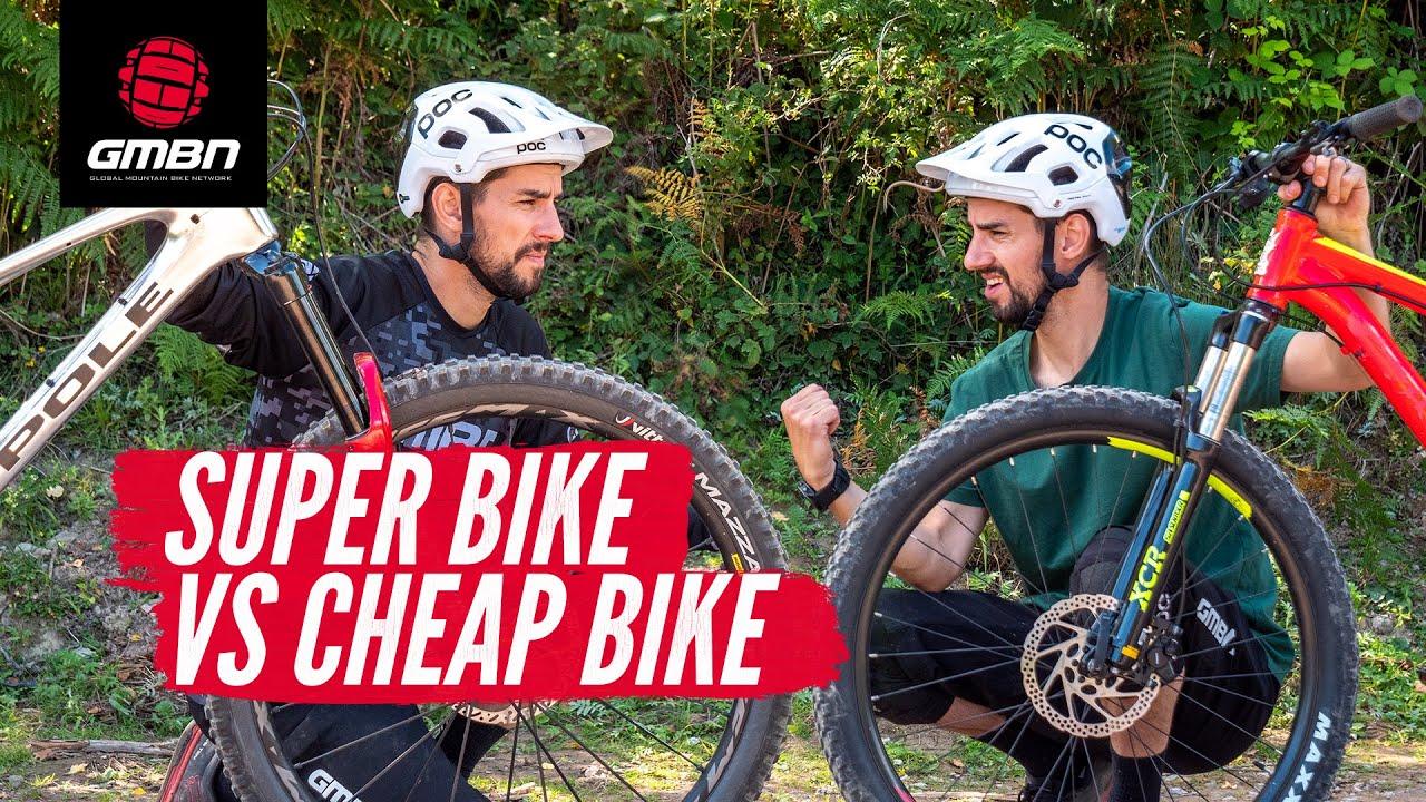 Cheap Bike Vs Super Bike | Do You Really Need A Top Of The Range Mountain Bike?