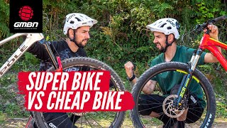 Cheap Bike Vs Super Bike | Do You Really Need A Top Of The Range Mountain Bike?