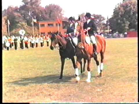 1987 Zambia   Lusaka, Derby, CHL, part 3, Open, Paddock, Parade, Military Music, by HabariSalam