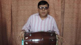How to play dhola lesson 3 Dadra (recreated) धा धा धा ता ता ता