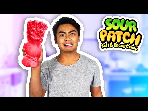 Thumbnail: DIY How To Make Giant Sour Patch Kids!