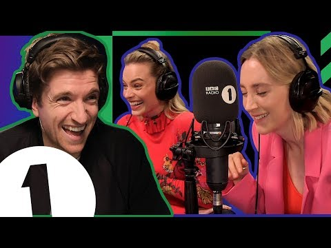 Cow eggs?: Margot Robbie & Saoirse Ronan react to embarrassing confessions