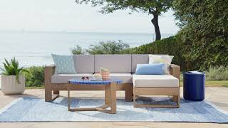 Sit & Fit: Portside Outdoor Sectional
