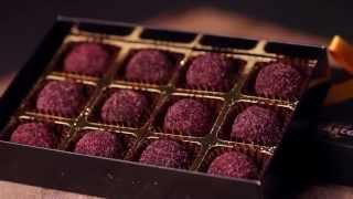 White Rabbit Chocolatiers - Blackcurrant with Juniper Dark Truffles - Great Taste Awards 2014 Top 50
