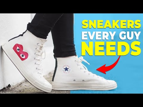 5 Sneakers EVERY GUY Should Own | Alex Costa