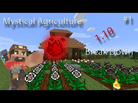 Getting Started Mystical Agriculture Episode 1!
