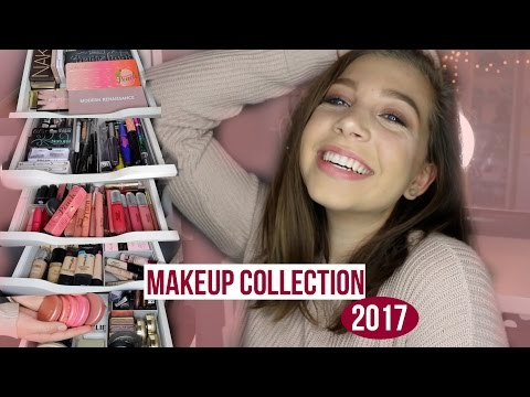 MAKEUP COLLECTION of a 15 year old | ZCbeauty