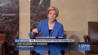 Elizabeth Warren silenced by senate while reading Coretta Scott King letter