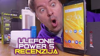 Ulefone Power 5 recenzija - toliko jaka baterija da ulazi u Guinnessovu knjigu rekorda (01.07.2018)