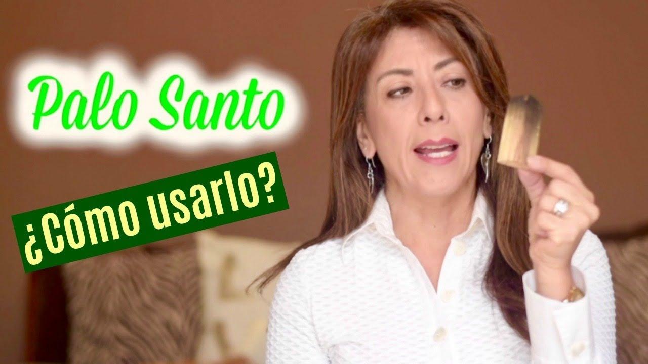 Cómo Utilizar El Palo Santo Youtube
