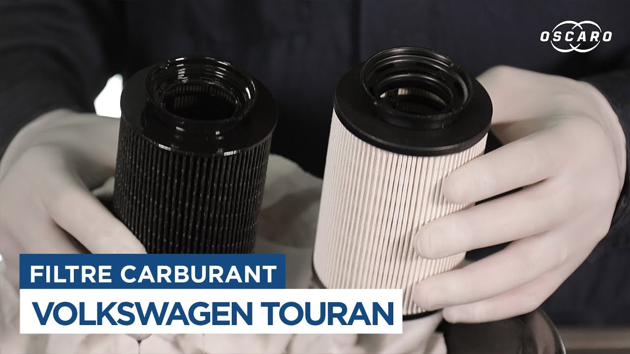Volkswagen touran changer le filtre carburant youtube for Filtre a frigo americain