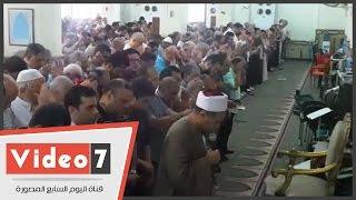 بالفيديو..أهالى ضحايا الطائرة المنكوبة يؤدون صلاة الغائب على أرواحهم بمسجد أبو بكر الصديق